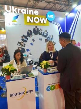 Україна яскраво презентувала себе на одній з найбільших виставок ділового туризму IBTM